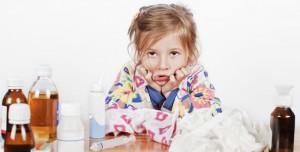 Детский насморк с последствиями