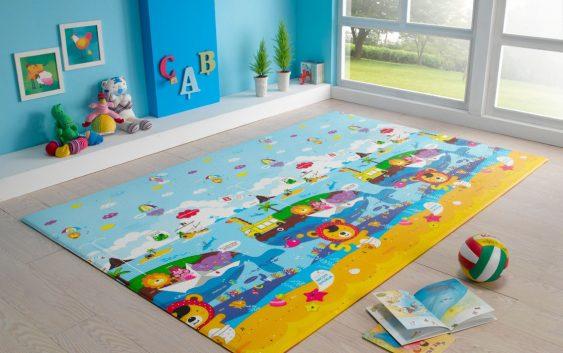 Покупаем красивые детские ковры
