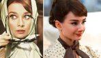 Создаем образ Одри Хепберн