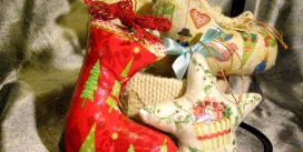 Как сделать новогодний сувенир в технике декупаж