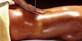 Энергичный эротический массаж