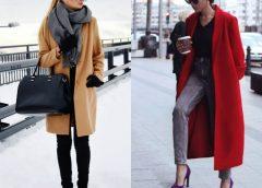 Пальто, как незаменимая деталь гардероба истинной леди